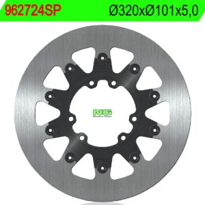 HM MOTO - Disco de freno NG sin ventilaciones 724SP Ø320 x Ø101 x 5 -