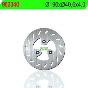 PGO - Disco de freno NG 340 Ø190 x Ø40.6 x 4 -