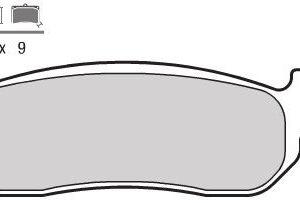 LINHAI - Pastillas de freno sinterizadas Brembo 07043XS -