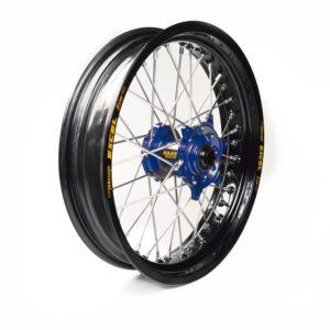SHERCO - Rueda completa Haan Wheels aro negro 16,5-350 buje azul 1 105055/3/5 -