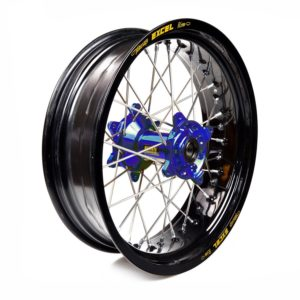 SHERCO - Rueda completa Haan Wheels aro negro 17-5,00 buje azul 1 106009/3/5 -