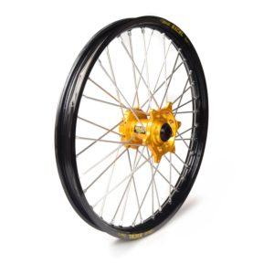 SHERCO - Rueda completa Haan Wheels aro negro 21-1,60 buje oro 1 105019/3/2 -