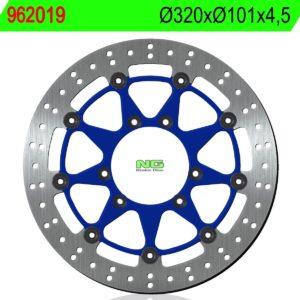 HM MOTO - Disco de freno NG 019 Ø319.5 x Ø101 x 4.5 -