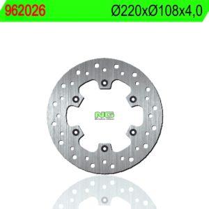 CLIPIC - Disco de freno NG 026 Ø220 x Ø108 x 4 -
