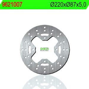 MOTO MORINI - Disco de freno NG 1007 Ø220 x Ø87 x 5 -