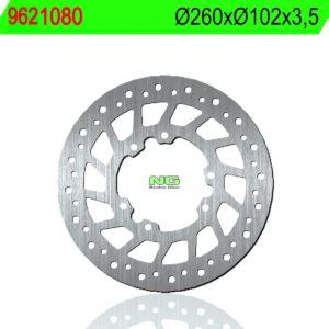 CCM - Disco de freno NG 1080 Ø260 x Ø102 x 3.5 -