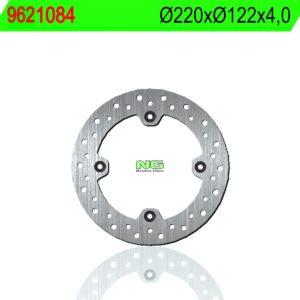 CCM - Disco de freno NG 1084 Ø220 x Ø122 x 4 -