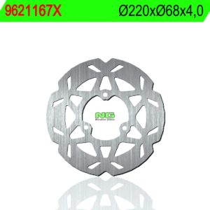 BLATA - Disco de freno NG ondulado 1167X Ø220 x Ø68 x 4 -