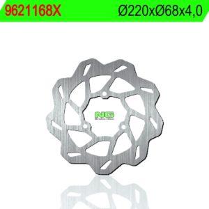 BLATA - Disco de freno NG ondulado 1168X Ø220 x Ø68 x 4 -