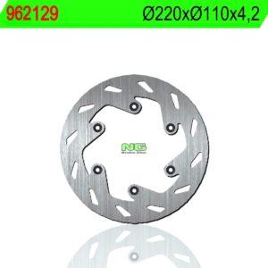 CCM - Disco de freno NG 129 Ø220 x Ø110 x 4.2 -