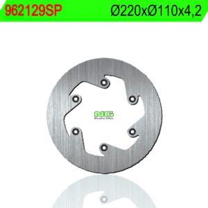 CCM - Disco de freno NG sin ventilaciones 129SP Ø220 x Ø110 x 4.2 -