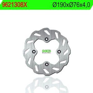 REBEL MASTER - Disco de freno NG ondulado1308X Ø190 x Ø76 x 4 -