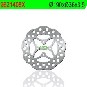 CPI - Disco de freno NG ondulado 1408X Ø190 x Ø36 x 3,5 -
