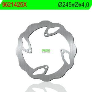 TM RACING - Disco de freno NG ondulado 1425X Ø245 x Ø- x 4 -