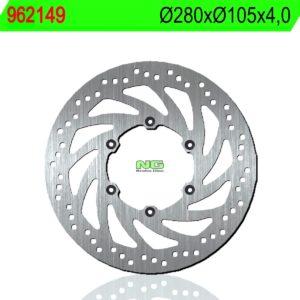 MZ / MUZ - Disco de freno NG 149 Ø280 x Ø105 x 4 -