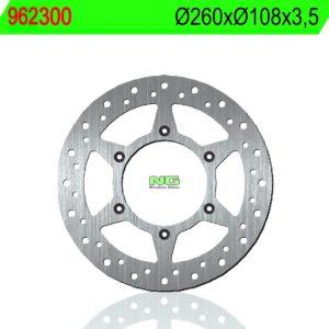 CCM - Disco de freno NG 300 Ø260 x Ø108 x 3.5 -