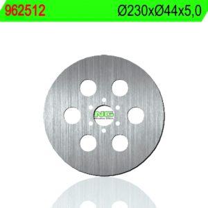 BRUNE - Disco de freno NG 512 Ø230 x Ø44 x 5 -