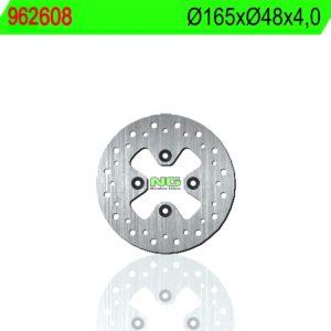 BOMBARDIER - Disco de freno NG 608 Ø165 x Ø48.3 x 4 -