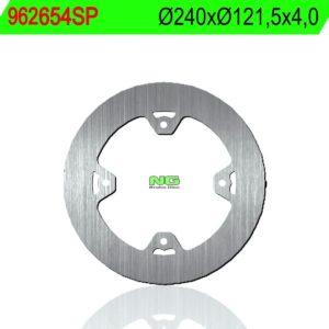 CMC - Disco de freno NG sin ventilaciones 654SP Ø240 x Ø121.5 x 4 -