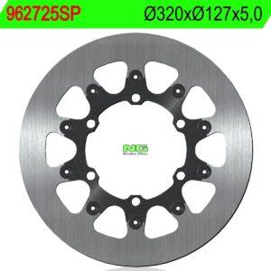 HUSABERG - Disco de freno NG sin ventilaciones 725SP Ø320 x Ø127 x 5 -