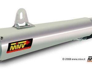 ESCAPES MIVV YAMAHA - MIVV X-cone Plus acero inox YZF 600 R6 (2006 en adelante) -