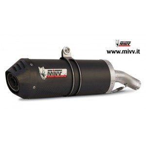 ESCAPES MIVV YAMAHA - MIVV Oval carbono, copa carbono XT 660 X/R (2004 en adelante) -
