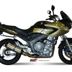 ESCAPES MIVV YAMAHA - MIVV Suono acero inox, copa carbono TDM 900 (2002 en adelante) -