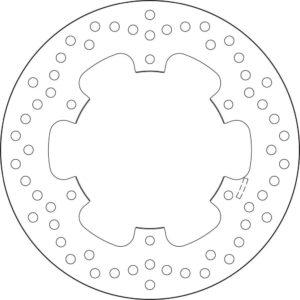 HRD - Disco de freno Brembo 68B40756 -
