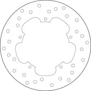 ADIVA - Disco de freno Brembo 68B40776 -