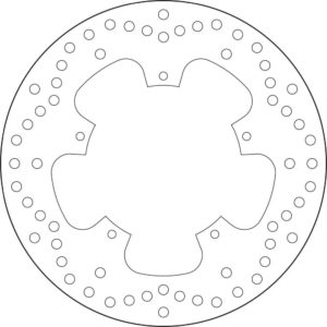 ADIVA - Disco de freno Brembo 68B407B6 -