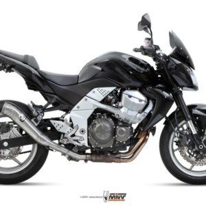 ESCAPES MIVV KAWASAKI - MIVV Ghibli acero inox Kawasaki Z 750 (2007 en adelante) -