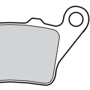 ALFER - Pastillas de freno orgánicas Brembo 07BB0235 -