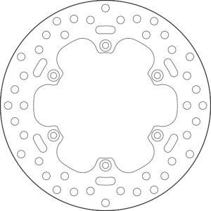 CCM - Disco de freno Brembo 68B40752 -