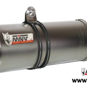 ESCAPES MIVV DUCATI - Mivv Oval acero inox Monster 750 1993-1998 -