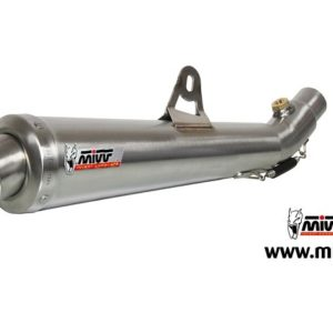 ESCAPES MIVV DUCATI - Mivv X-cone acero inox Monster 800 2003+ -