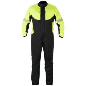 IMPERMEABLES PARA MOTO - Mono de lluvia impermeable Alpinestars Hurricane Yellow Fluo Black -