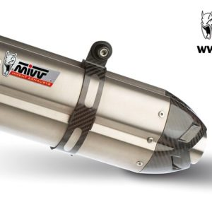ESCAPES MIVV DUCATI - Mivv Suono acero inox, copa carbono (bajo colin) Ducati 998 1994+ -