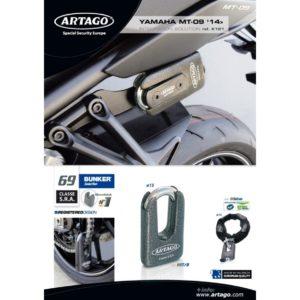 Artago - Kit INTEGRACION 69, silentblok, YAMAHA MT-09 '15 -