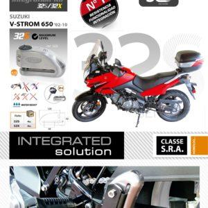 Artago - Kit INTEGRACION 32, silentblok, SUZUKI V-STROM 650 2002 -