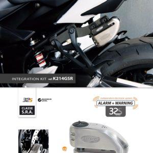 Artago - Kit INTEGRACION 32, silentblok, SUZUKI GSR 750 2011 -