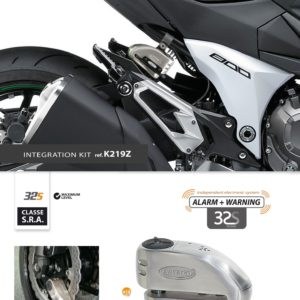Artago - Kit INTEGRACION 32, silentblok, Kawasaki Z800 '12 -