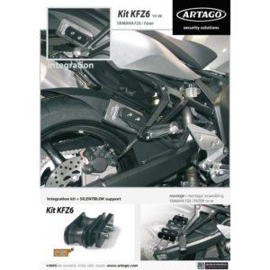 Artago - kit INTEGRACION 69, YAMAHA FZ6 / FAZER '04-09 -