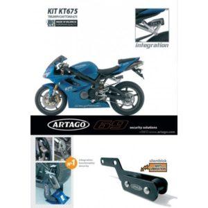 Artago - kit INTEGRACION 69, Trimph DAYTONA 675 '08-09 -