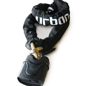 Urban - URBAN candado cadena 10mm- 120 cm cementado/harnened. -